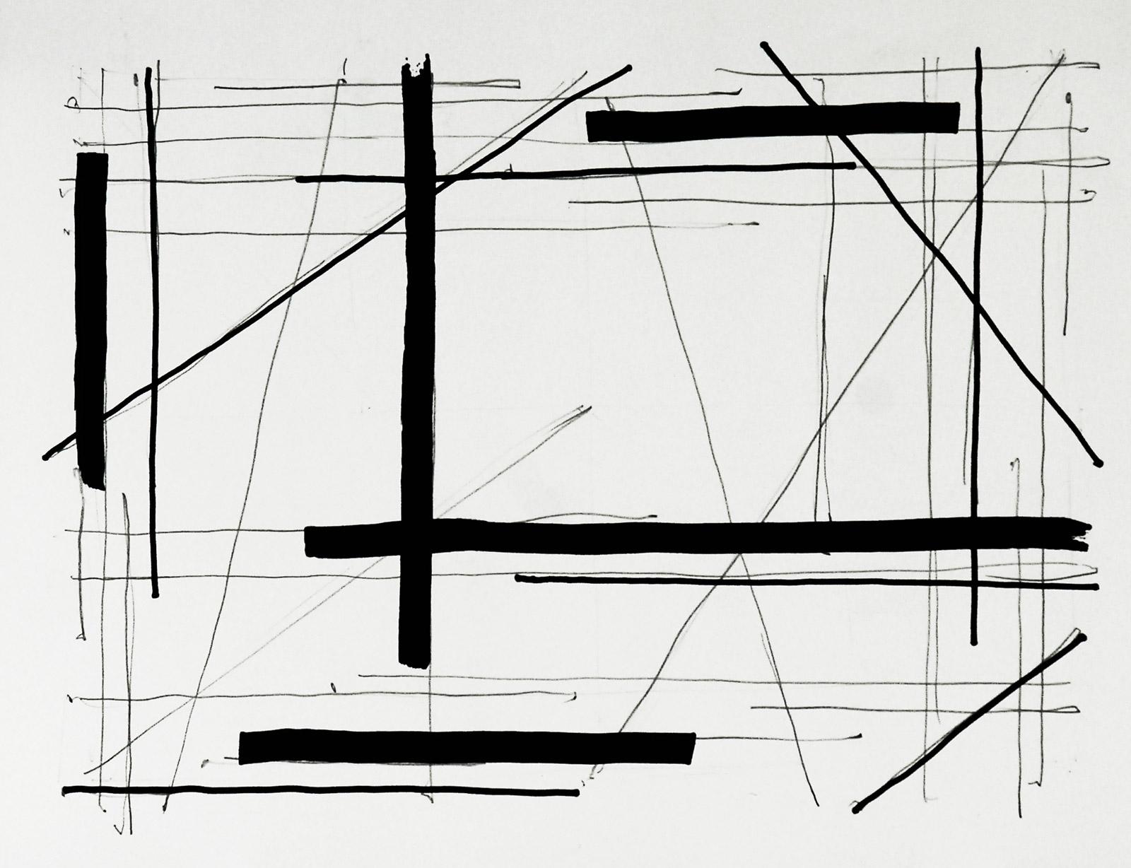 Linie Raum Zeichnung